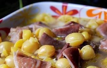 银杏覆盆子煲猪小肚补肝肾、缩小便功效